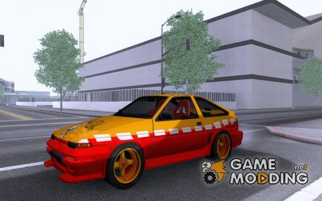 Toyota Trueno AE86 Calibri-Ace для GTA San Andreas