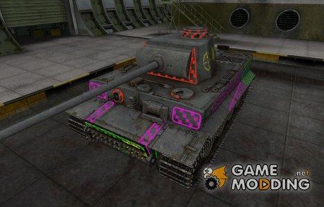 Качественные зоны пробития для PzKpfw VI Tiger для World of Tanks
