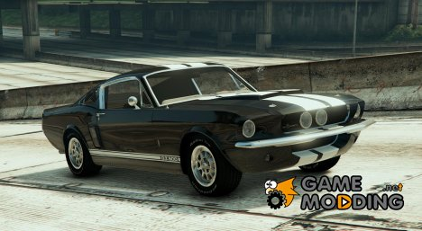 1967 Ford Mustang GT500 v1.2 for GTA 5