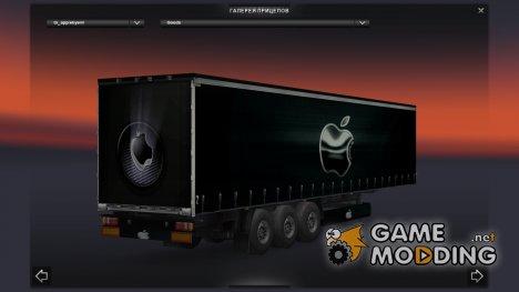 Apple trailer for Euro Truck Simulator 2