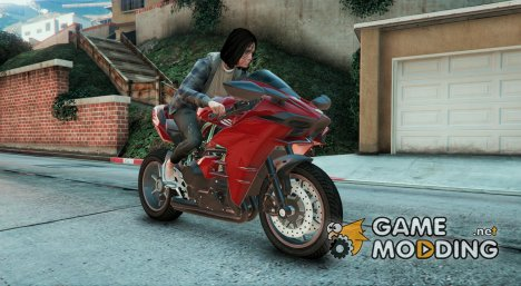 Kawasaki Ninja H2R v2.1 для GTA 5