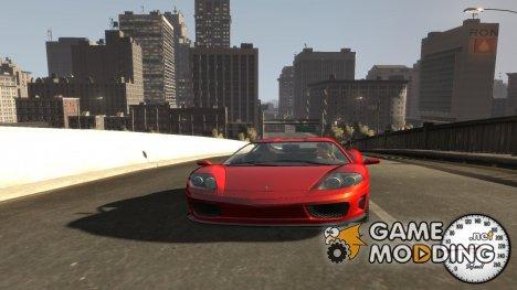 Спидометр IV (Скин 1) для GTA 4