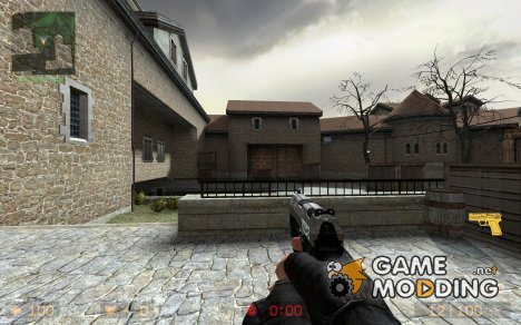 Underworld- Silver P99 for Counter-Strike Source