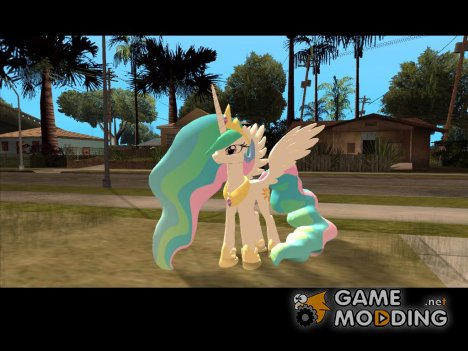 Celestia (My Little Pony) for GTA San Andreas