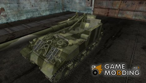 M40M43 (2 tone camo) for World of Tanks