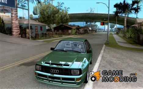 Audi SportQuattro 1983 for GTA San Andreas