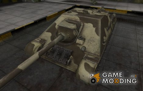 Пустынный скин для СУ-122-44 for World of Tanks