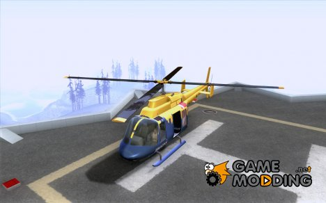 Helitours Maverick из GTA 4 for GTA San Andreas