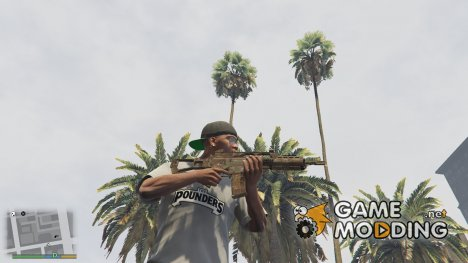 Desert Camo G36K for GTA 5