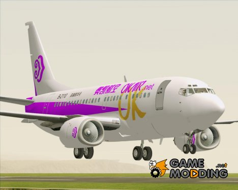 Boeing 737-500 Okay Airways (OK Air) для GTA San Andreas