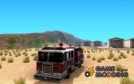 4-дверная пожарка для GTA San Andreas