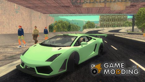 Lamborghini Gallardo LP560-4 GT3 TT for GTA 3