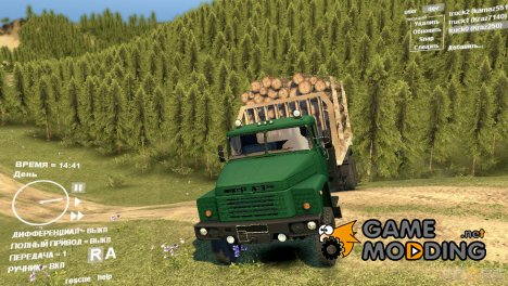 КрАЗ 250 для Spintires DEMO 2013