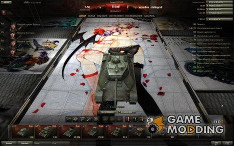 Аниме премиум ангар для World of Tanks