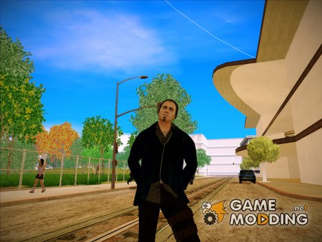 Damien from Watch Dogs для GTA San Andreas