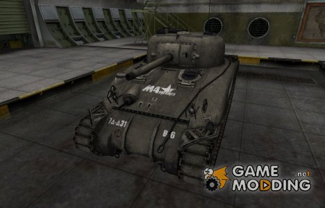 Отличный скин для M4 Sherman для World of Tanks