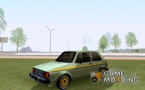 Volkswagen Rabbit GTI 1986 Cult Style for GTA San Andreas