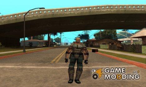 Шериф из Алиен сити for GTA San Andreas