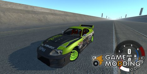Toyota Supra Drift 1995 for BeamNG.Drive