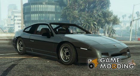 Pontiac Fiero GT G97 1985 v1.0 for GTA 5