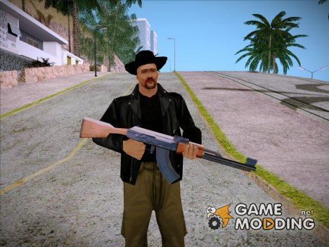 Claude Band Skin V2 for GTA San Andreas