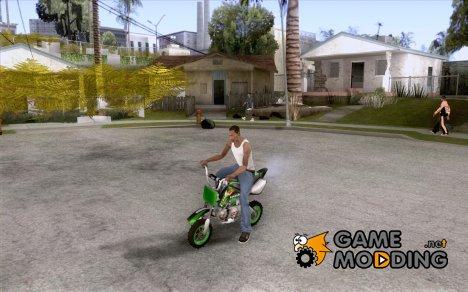 Kawasaki PitBike для GTA San Andreas