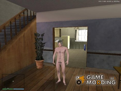 Leon Kennedy naked for GTA San Andreas