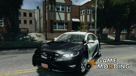 Ford Taurus Sheriff 2010 for GTA 4