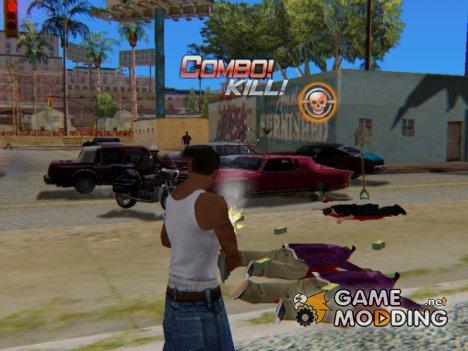 CSO Killer Effect для GTA San Andreas