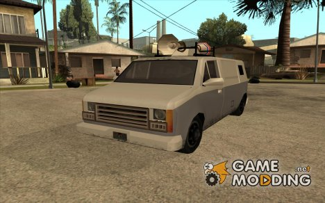 News Van из GTA LCS for GTA San Andreas