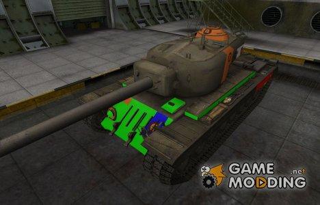 Качественный скин для T34 для World of Tanks