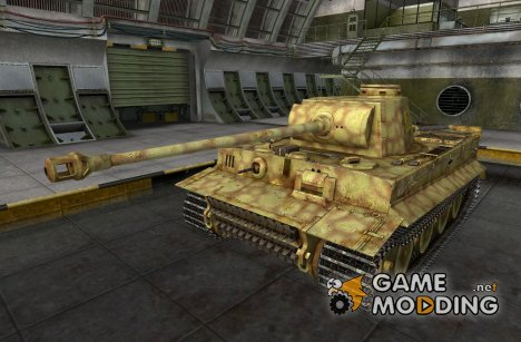 Ремоделинг для PzKpfw VI Tiger для World of Tanks