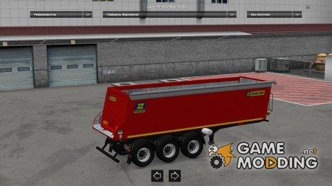 Zaslaw Trailer для Euro Truck Simulator 2
