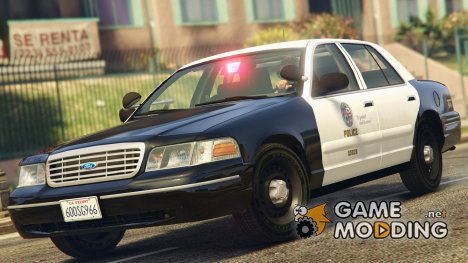 1998 Ford Crown Victoria P71 - LAPD Gang Unit 1.1 for GTA 5