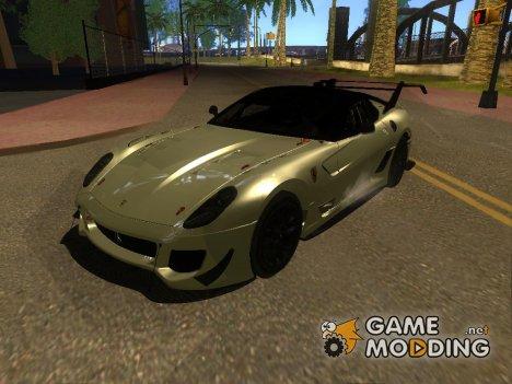 Ferrari 599XX Evolution 2012 for GTA San Andreas