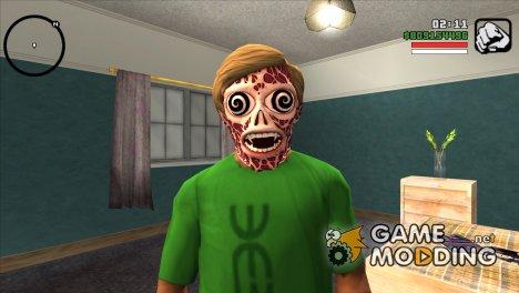 Маска инопланетянина v3 (GTA Online) для GTA San Andreas