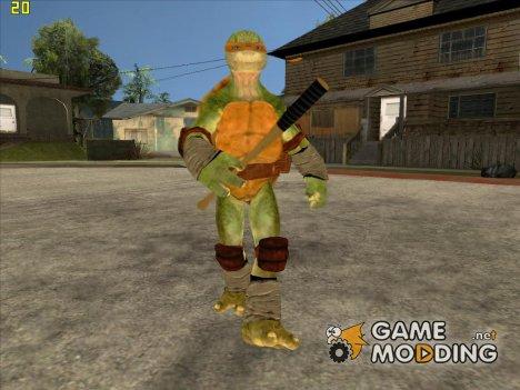 Микеланджело (Черепашки-ниндзя) for GTA San Andreas