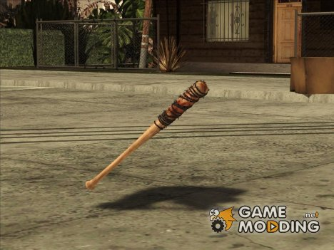 Lucille Negan Baseball Bat The Walking Dead for GTA San Andreas