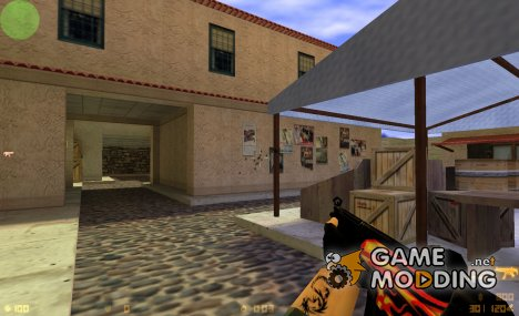 Fire Style Mp5 for Counter-Strike 1.6
