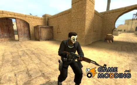 Anonymous L33t / my first skin для Counter-Strike Source