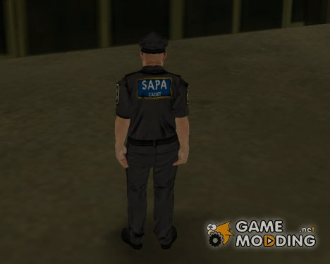 SAPA Cadet Skin для GTA San Andreas
