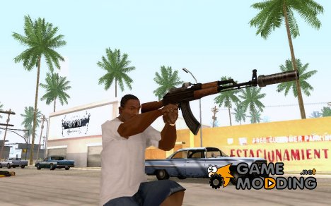 AK 74 silenced for GTA San Andreas