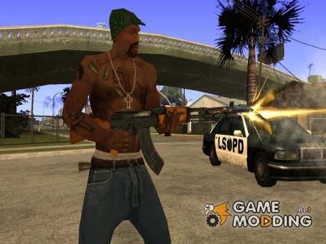 Пак оружия by nekit4849 для GTA San Andreas