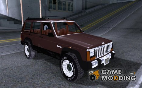 '86 Jeep Cherokee for GTA San Andreas