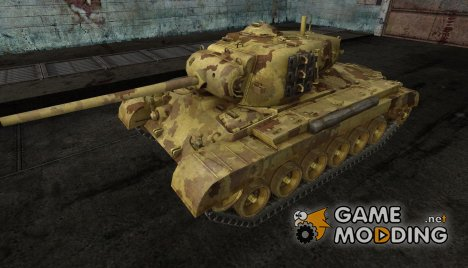 Шкурка для M26 Pershing Desert Ghost для World of Tanks