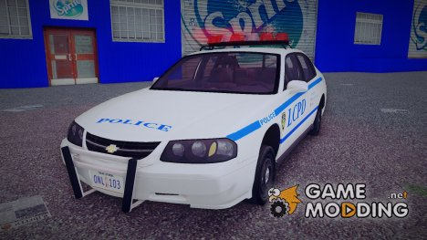 Chevrolet Impala Liberty City Police Department для GTA 3