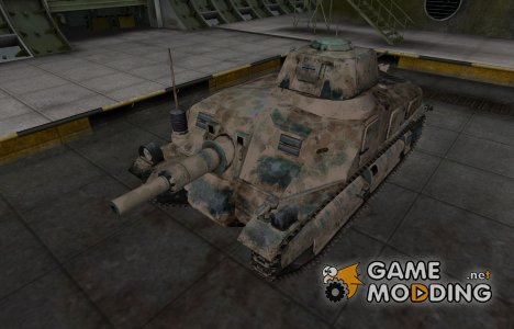 Французкий скин для Somua SAu 40 для World of Tanks