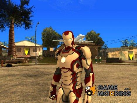 Железный человек mark 42 Marvel heroes 2016 для GTA San Andreas