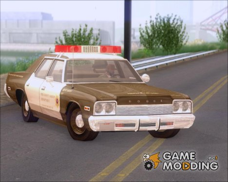 Dodge Monaco 1974 RCSD Lightbar Version для GTA San Andreas
