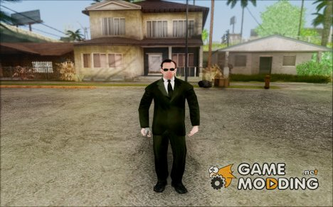 Agent Smith from Matrix for GTA San Andreas